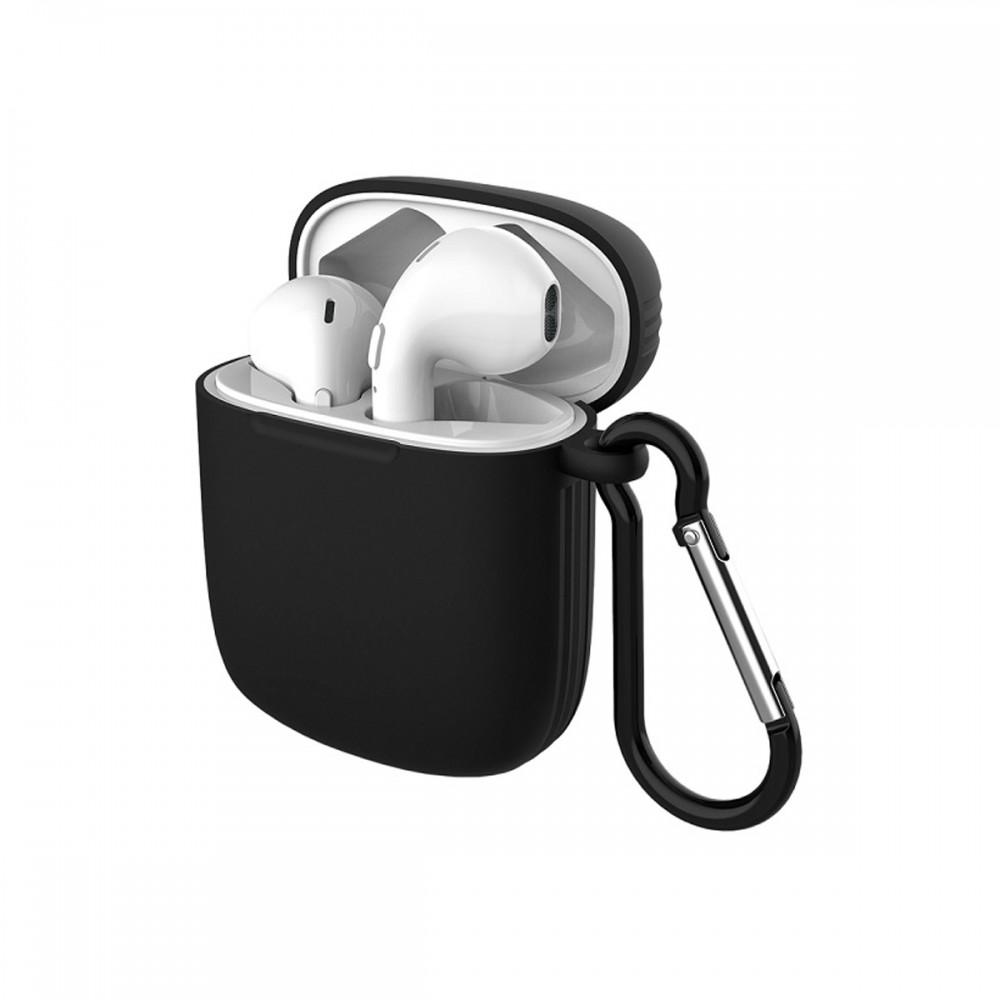Auriculares inalámbricos Argom con funda color negro