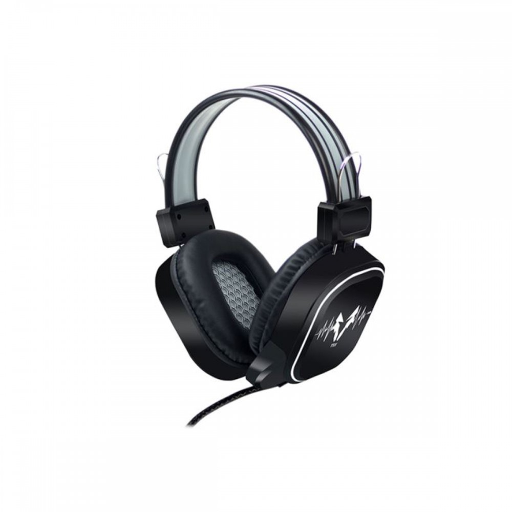 Auriculares Gamer DS-100 con luces led RGB y micrófono