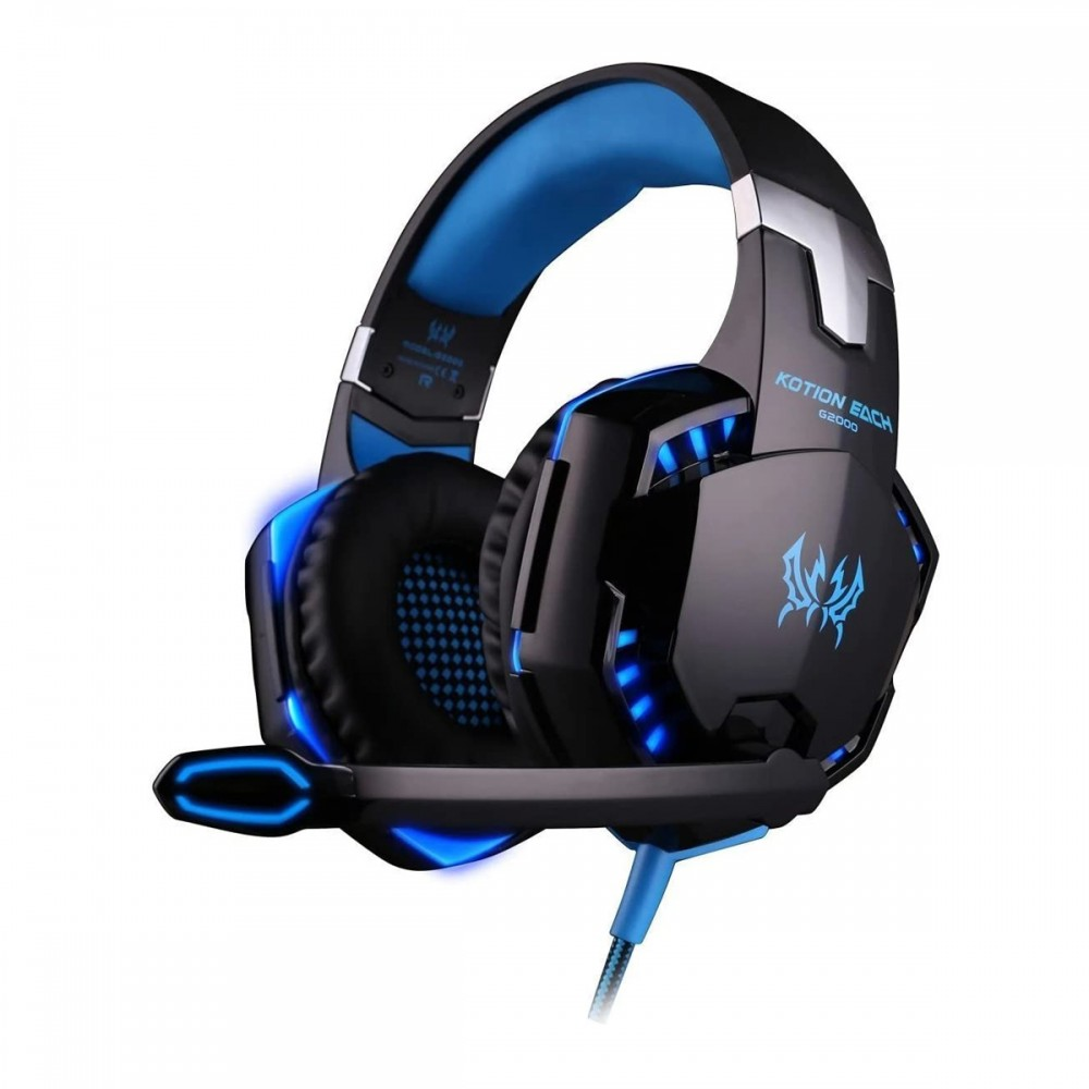 Auriculares gaming Speed Spider con luces led