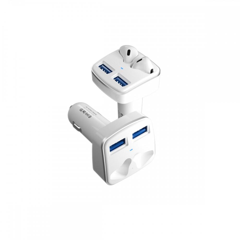 Cargador de auto para airpods con doble USB
