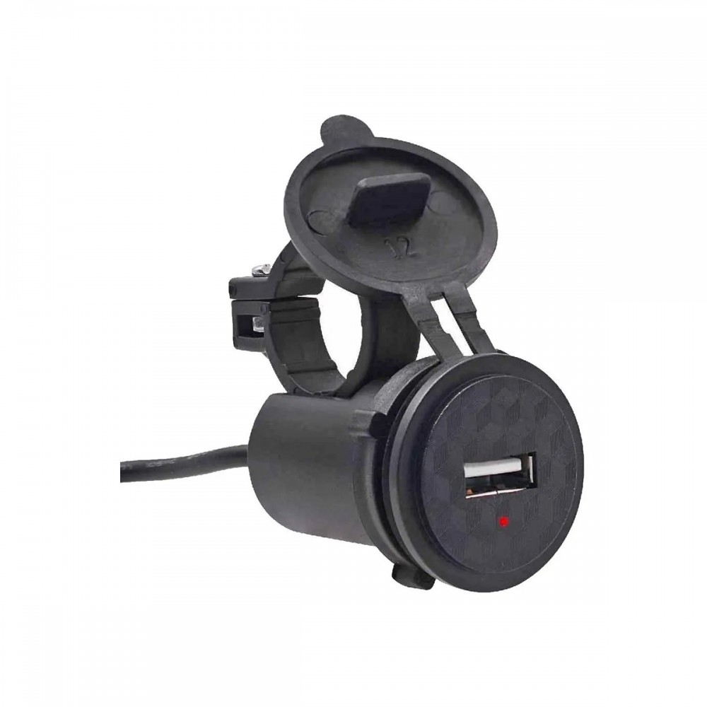 Cargador USB para moto