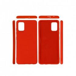 Protector Samsung A31/A31S engomada color rojo