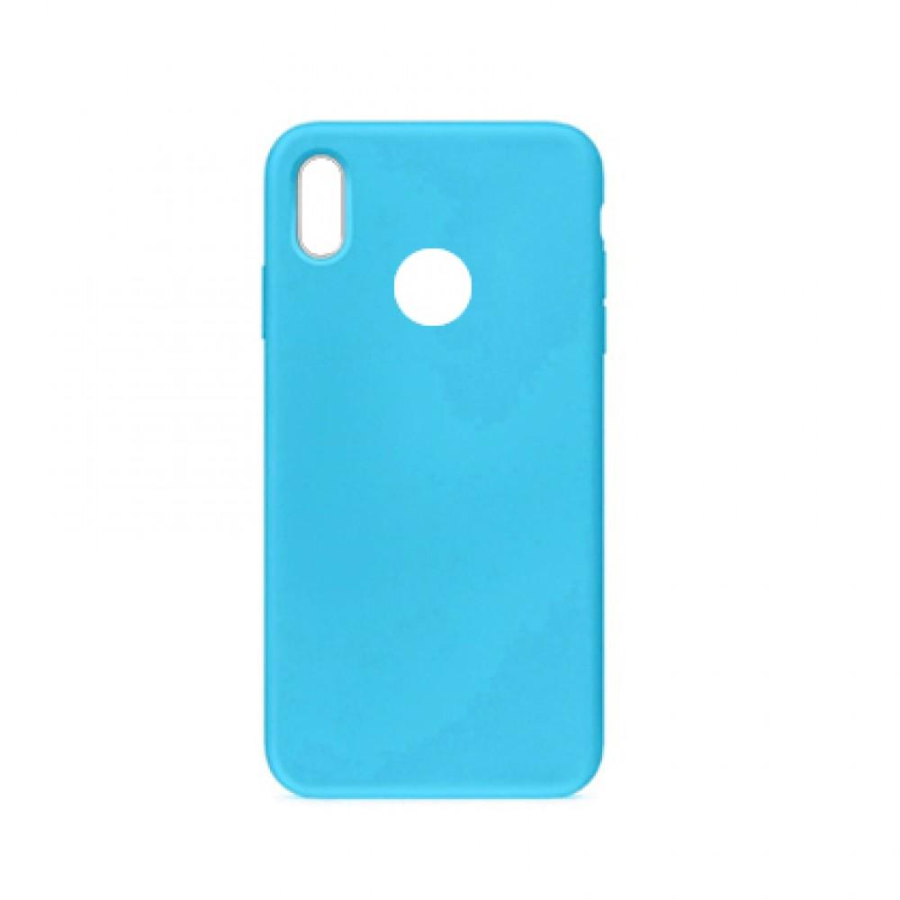 Protector Xiaomi Redmi 7 engomada color celeste