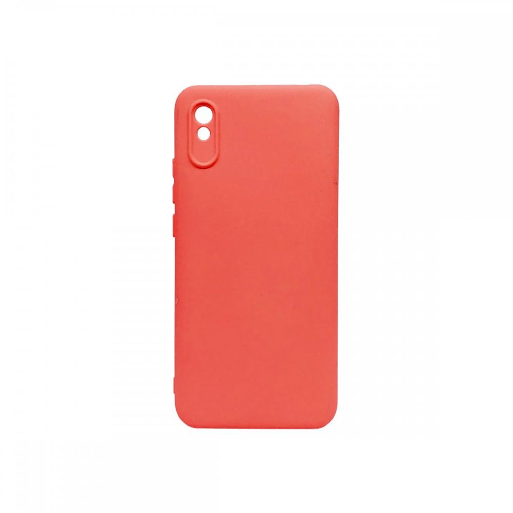 Protector Xiaomi Redmi 9A engomado color coral