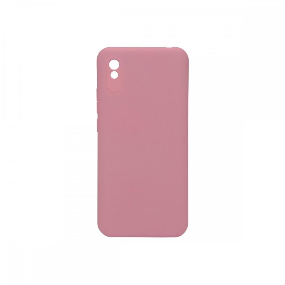 Protector Xiaomi Redmi 9A engomado color rosa