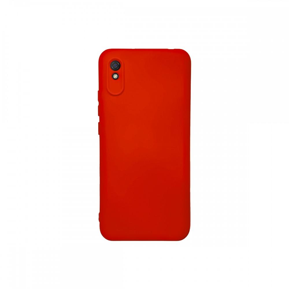 Protector Xiaomi Redmi 9A engomado color rojo