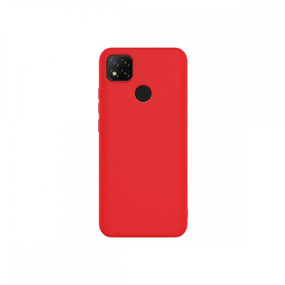 Protector Xiaomi Redmi 9C engomado color rojo