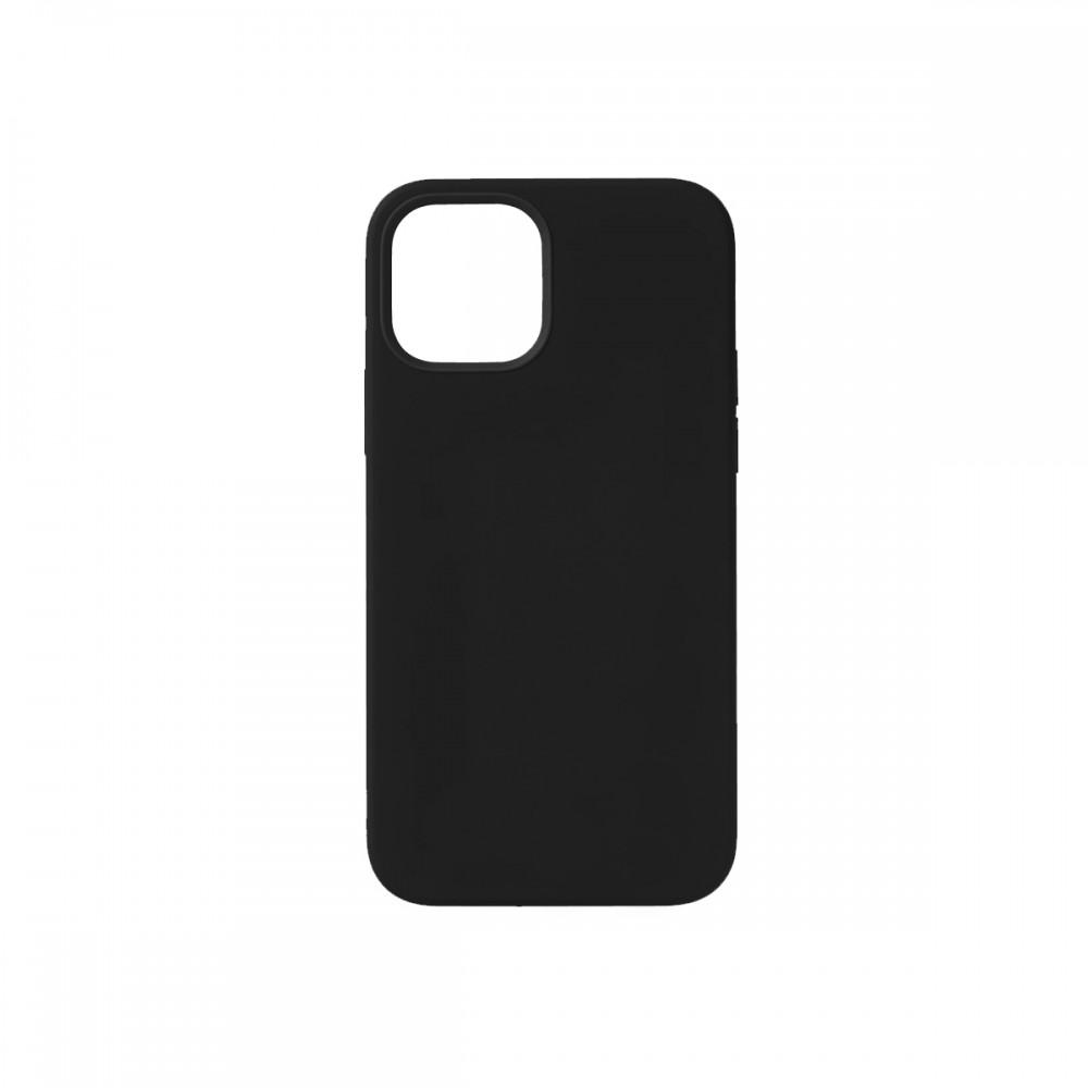 Protector iPhone 12 Pro Max engomado color negro