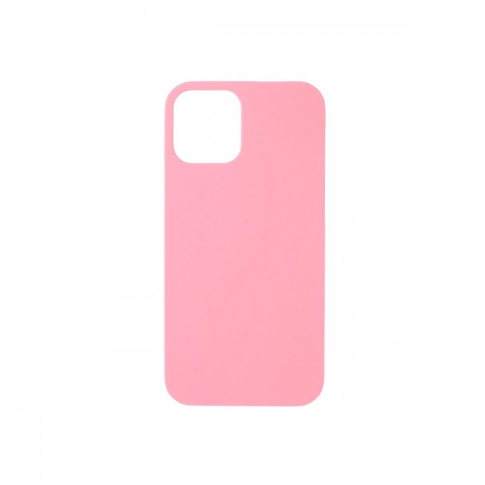 Protector iPhone 12 Pro Max engomado color rosa