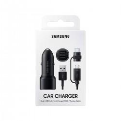 Cargador de coche 2 USB Samsung