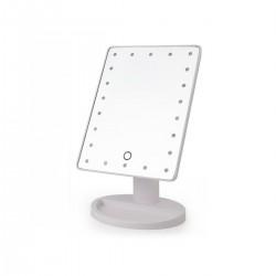 Espejo rectangular con luces led