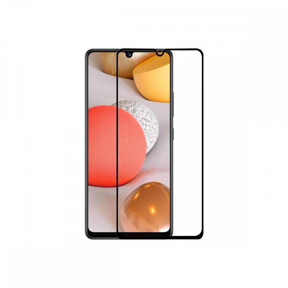 Film templado 9D Samsung Galaxy A32 4G borde color negro