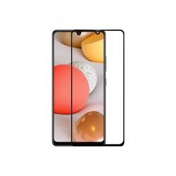 Vidrio templado 9D Samsung Galaxy A32 4G borde color negro