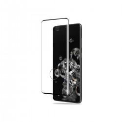 Film templado 9d Samsung Galaxy S20 Ultra borde color negro