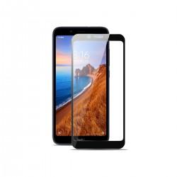 Film templado 9D Xiaomi Redmi 7A borde color negro