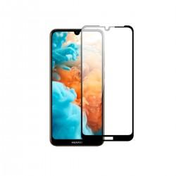 Film templado 9D Huawei Y5 2019 borde color negro