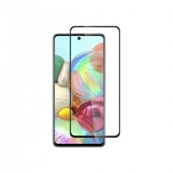 Film templado 9D Samsung Galaxy A71 borde color negro