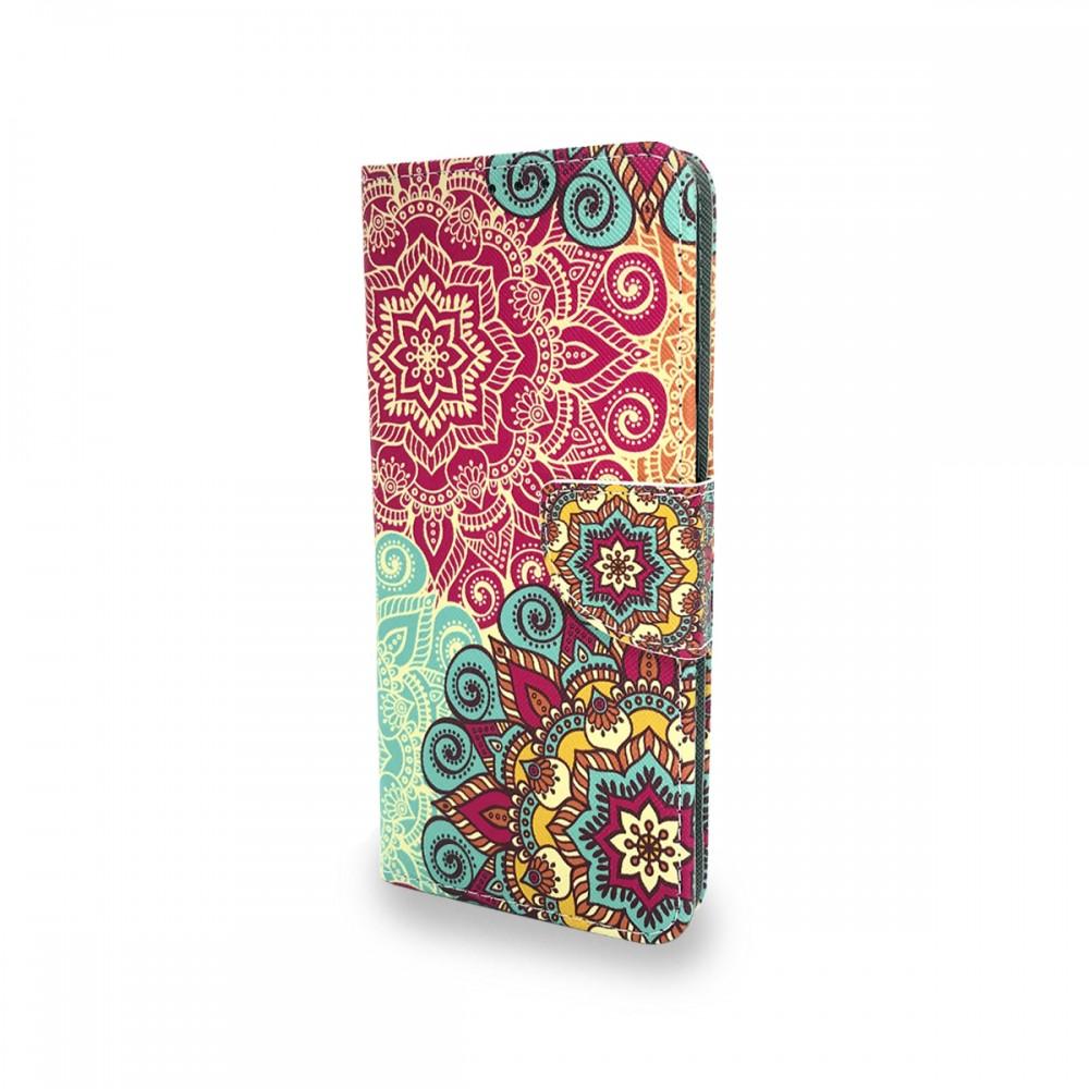 Flip Cover Samsung Galaxy A21S diseño mandala colores