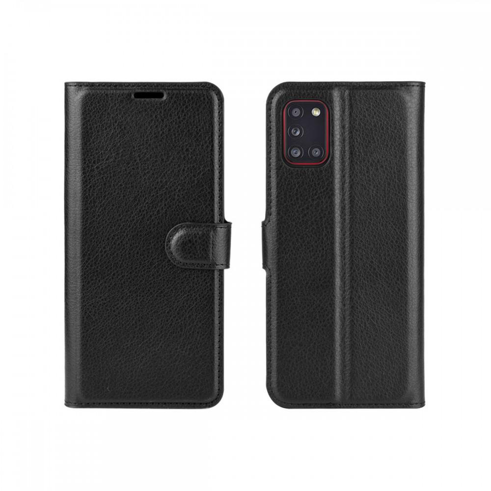 Flip cover Samsung A31/A31S color negro