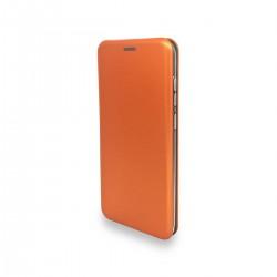 Flip cover imantado Samsung A51 color naranja