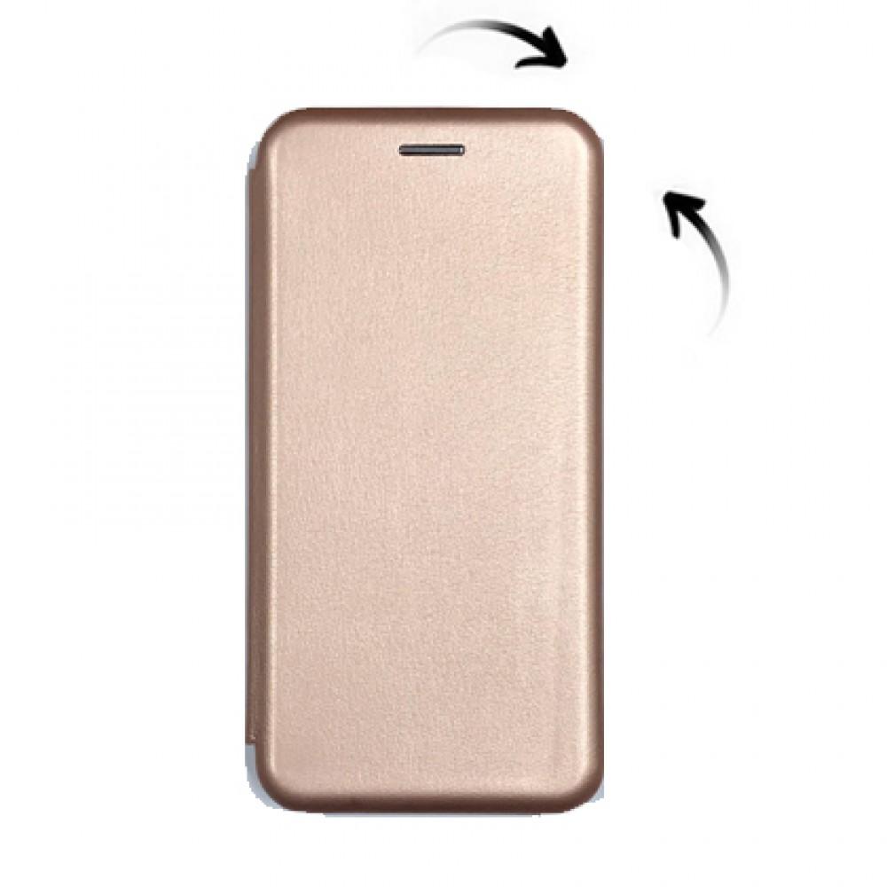 Flip cover imantado Samsung A51 color rose gold