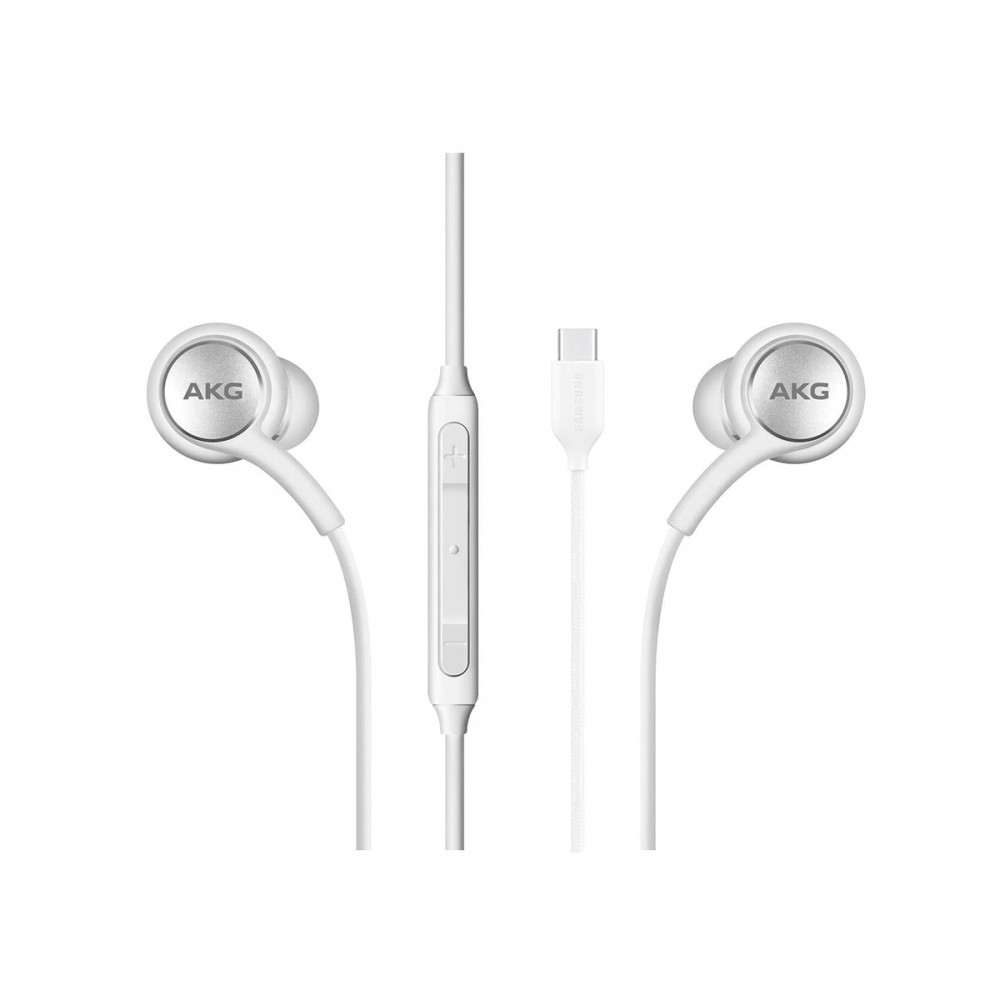 Auriculares Samsung AKG in-ear tipo C blancos