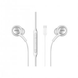 Auriculares Samsung AKG in-ear tipo C blancos