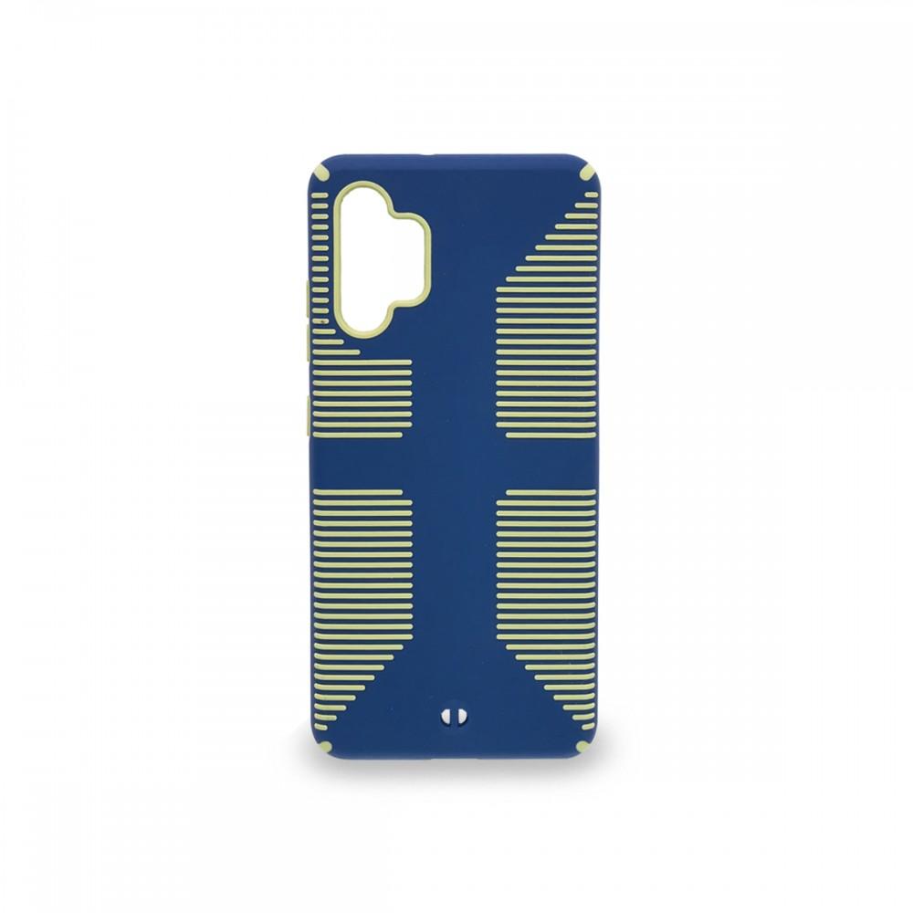 Protector rígido anti caída Samsung Galaxy A32 4G color azul