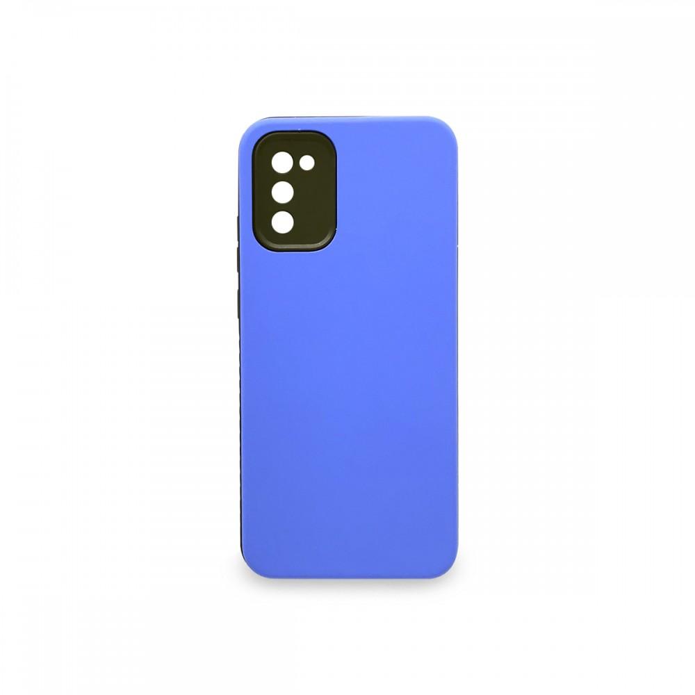 Protector rígido para Samsung Galaxy A02S color azul