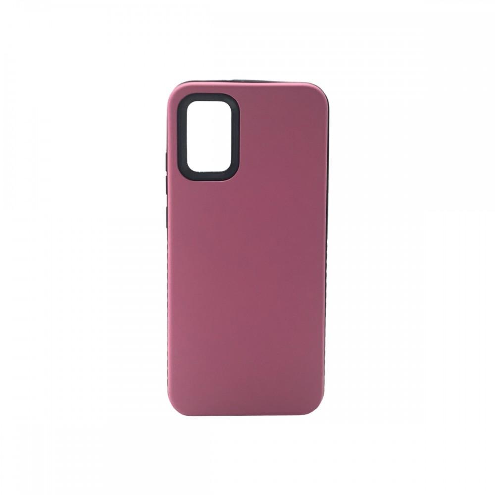 Protector rígido para Samsung Galaxy A02S color rosa