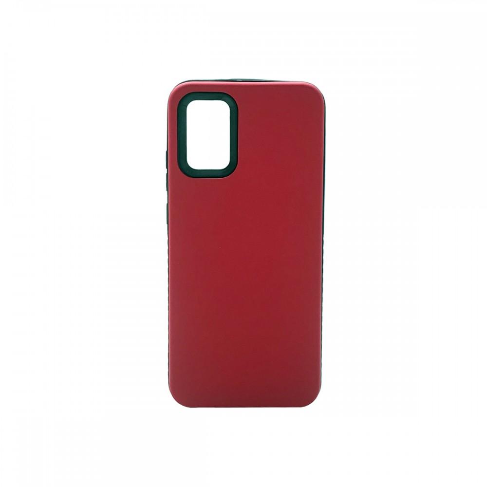 Protector rígido para Samsung Galaxy A02S color rojo