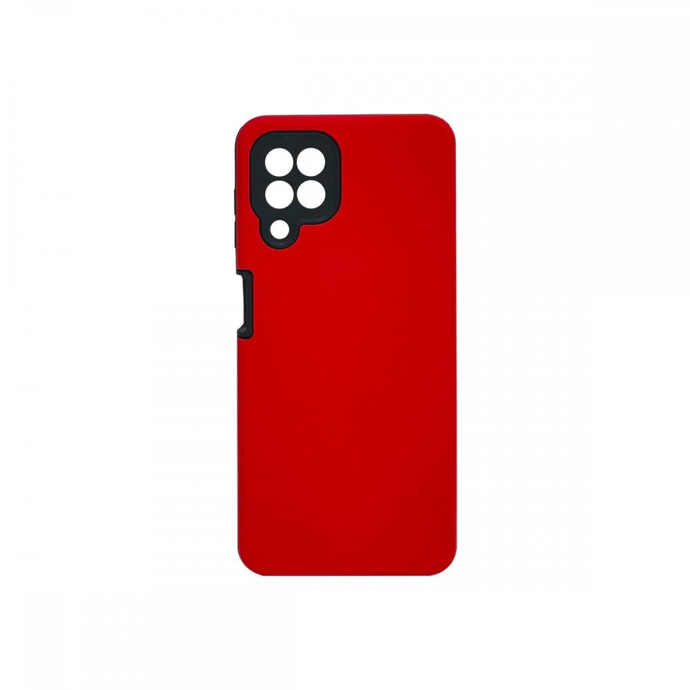 Protector rígido Samsung Galaxy A22 color rojo