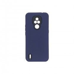 Protector rígido Motorola Moto E7 color azul