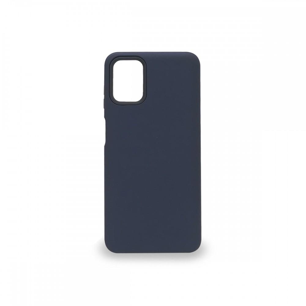 Protector rígido Motorola Moto G9 Plus color azul