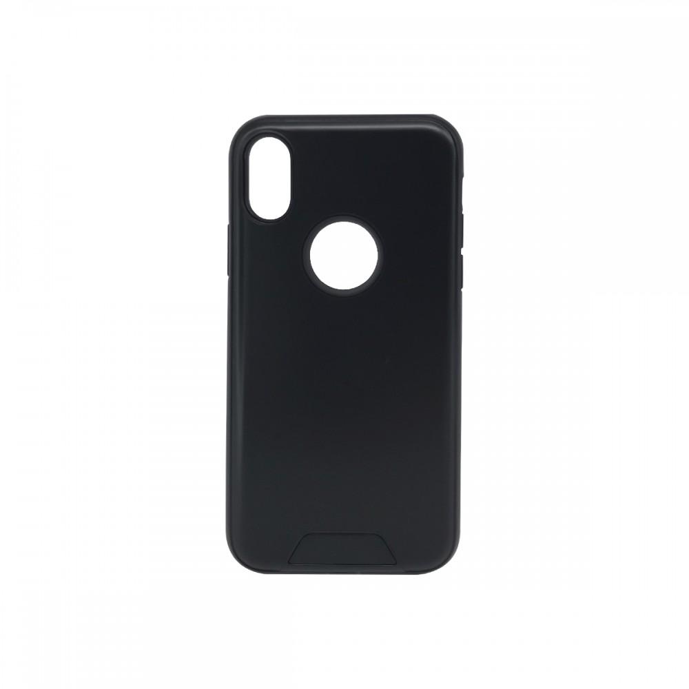 Protector 2 en 1 iPhone X / XS color negro