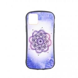 Protector iPhone 11 Pro diseño mandala violeta