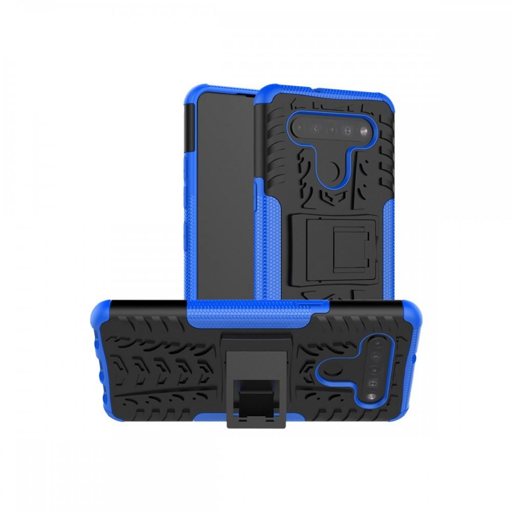 Protector LG K41S/K51S reforzado con soporte