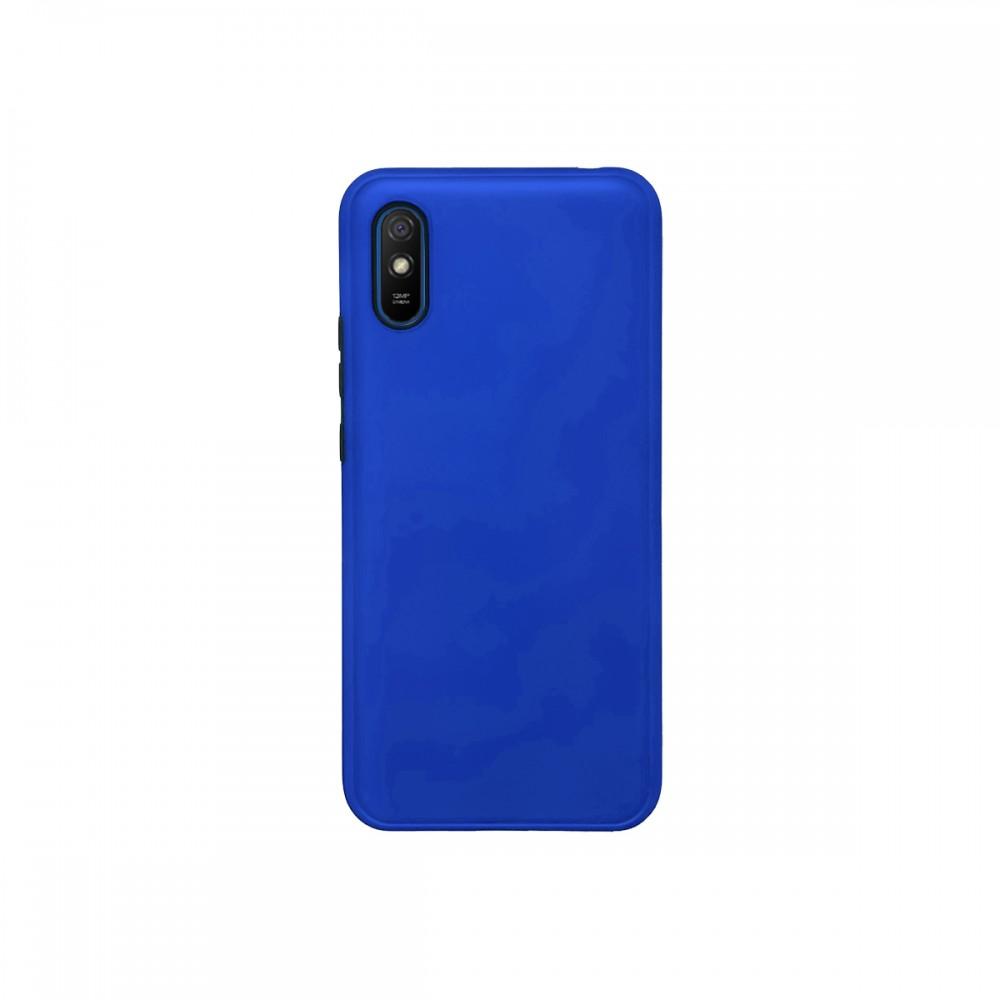 Protector 2 en 1 Xiaomi Redmi 9A color azul