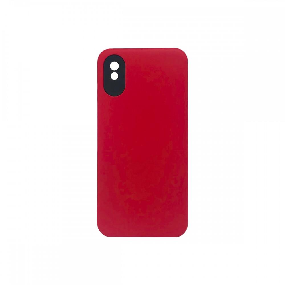 Protector 2 en 1 Xiaomi Redmi 9A color rojo