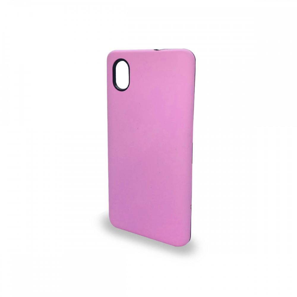 Protector rígido ZTE Blade A3 2020 color rosa
