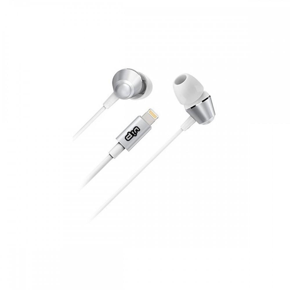 Auriculares in-ear con conector lightning color blanco