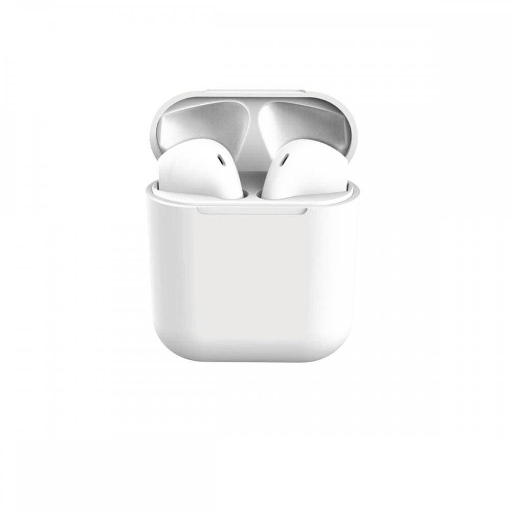 Auriculares inalámbricos I12 color blanco