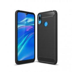 Protector Huawei Y7 2019 texturado color negro