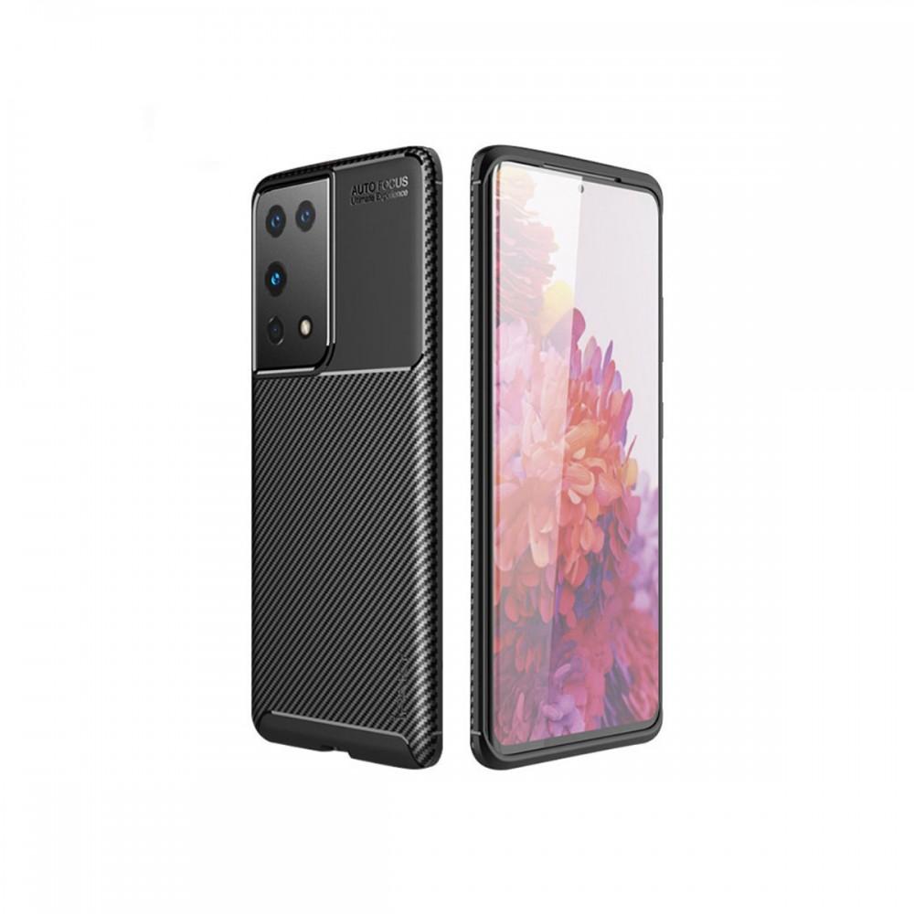 Protector Samsung Galaxy S21 Ultra texturado color negro