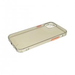 Protector trasparente iPhone 12/12 Pro color negro
