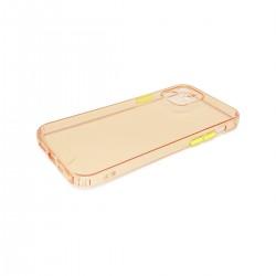 Protector trasparente iPhone 12/12 Pro color rosa