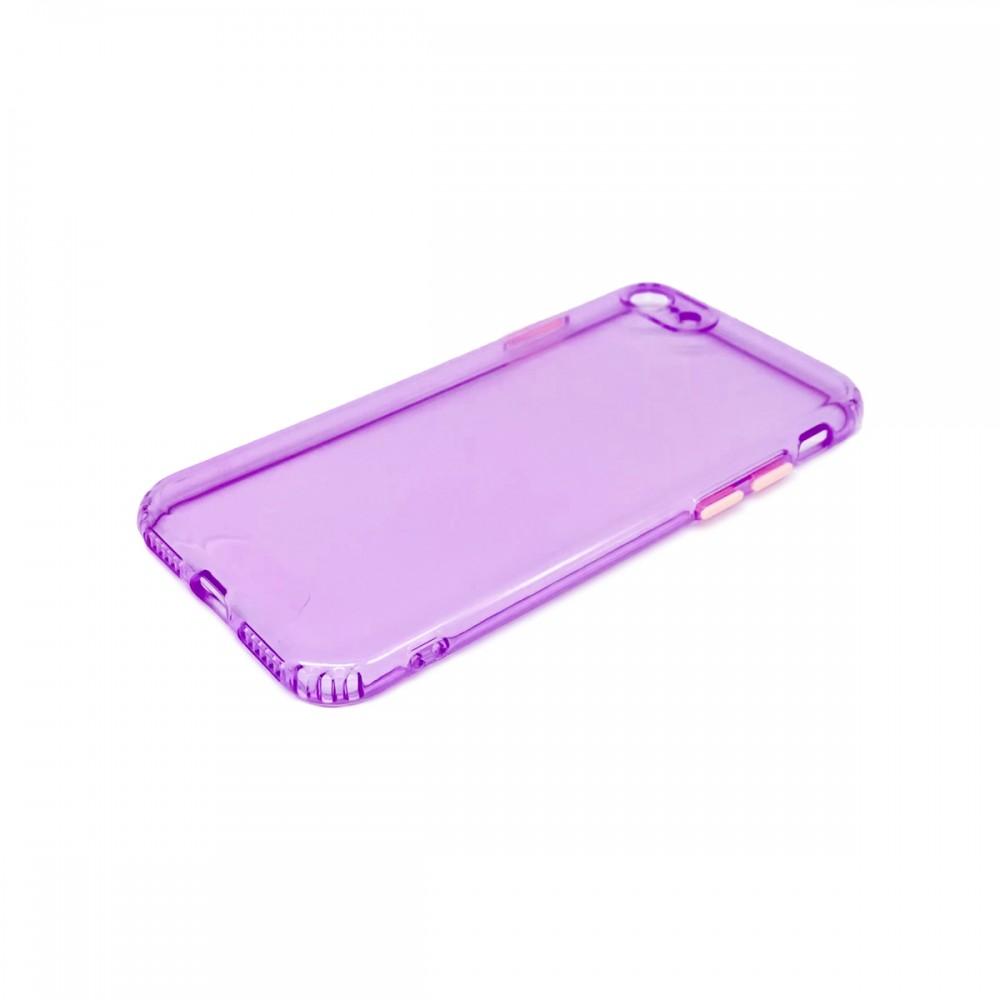 Protector trasparente iPhone 7/8 color violeta