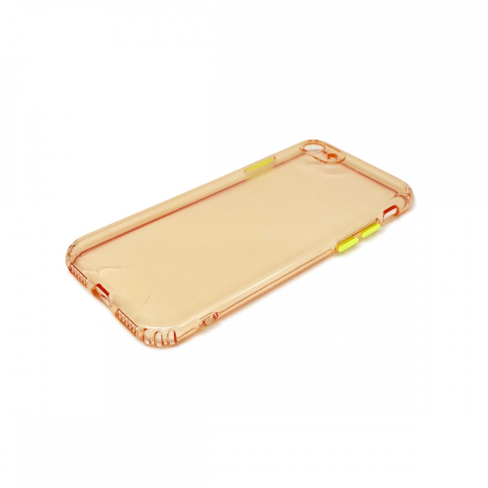 Protector trasparente iPhone 7/8 color rosa