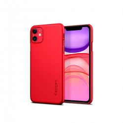 Protector Spigen iPhone 11 color rojo