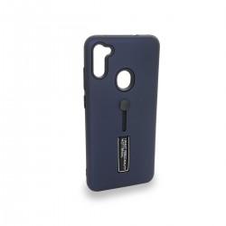 Protector Samsung Galaxy A11 anillo y soporte color azul